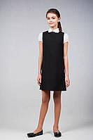 Школьная форма для девочек сарафан черный, синий, серый
