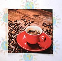 Наклейка на выключатель Чашка кофе