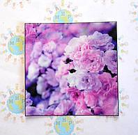Наклейка на выключатель Сиреневые цветы