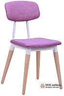 """Деревянный стул """"Iris"""" (Розовый)"""