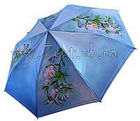 Женский зонт Zest Весеннее дерево САТИН ( автомат ) арт. 53624-5