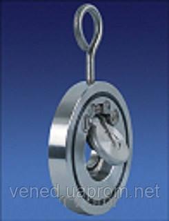 Клапан міжфланцевий нержавійка CV 30 Ду 150