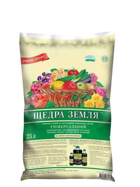 Торфяной субстрат Щедра Земля 150л - Агролавка - Интернет-магазин в Одессе