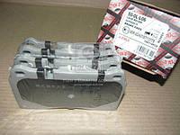 Комплект тормозных колодок, дисковый тормоз (производство ASHIKA), ADHZX