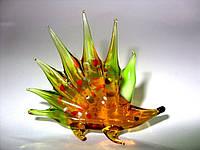 Стеклянная фигурка Ежик FS-436