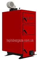 Отопительный котел на твердом топливе  Альтеп KT-1Е-N 33 квт площадь отопления до 330 м2