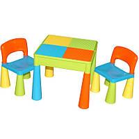 Столик и два стульчика Tega Mamut. Все варианты расцветок в наличии!