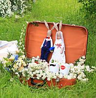 Свадебные зайцы «Mr&MrsSmith» 2 шт