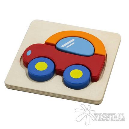 Мини-пазл Viga Toys Машинка 50172, фото 2