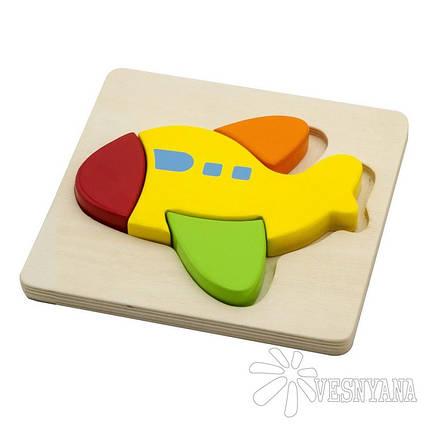 Мини-пазл Viga Toys Самолет 50173, фото 2