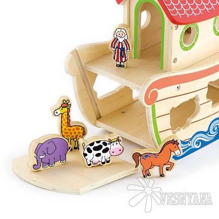 Игрушка-сортер Viga Toys Ноев ковчег 50345, фото 2