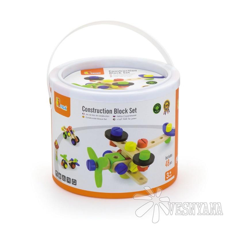 Конструктор Viga Toys (48 деталей) 50383