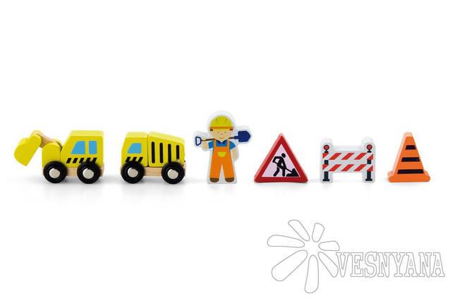 Доп. набор к ж/д Viga Toys Строители 50813, фото 2