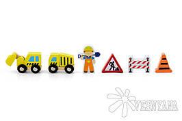 Доп. набор к ж/д Viga Toys Строители 50813