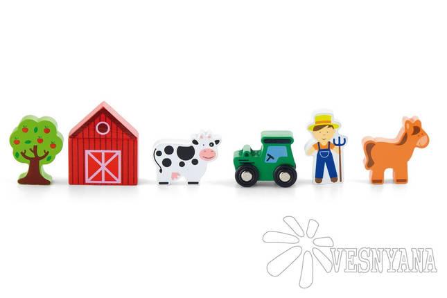 Доп. набор к ж/д Viga Toys Ферма 50812, фото 2