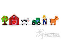 Доп. набор к ж/д Viga Toys Ферма 50812
