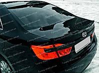 Спойлер Toyota Camry V50 sport (спойлер на крышку багажника Тойота Камри 50)