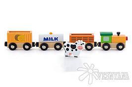 Доп. набор к ж/д Viga Toys Поезд-ферма 50821