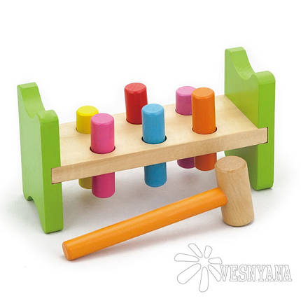 Игрушка Viga Toys Забей гвоздик 50827VG, фото 2