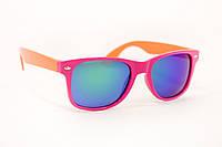 Модные зеркальные детские очки от солнца