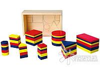 Набор для обучения Viga Toys Логические блоки 56184