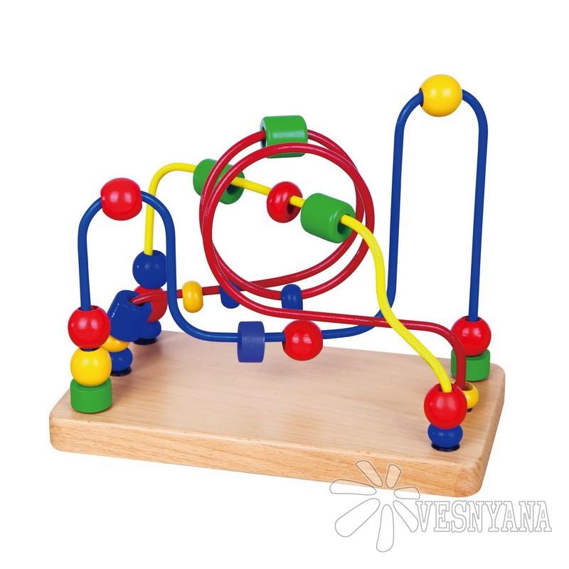 Лабиринт Viga Toys Бусинки 56256