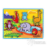 Рамка-вкладыш Viga Toys Животные 56435