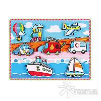 Рамка-вкладыш Viga Toys Транспорт 56436