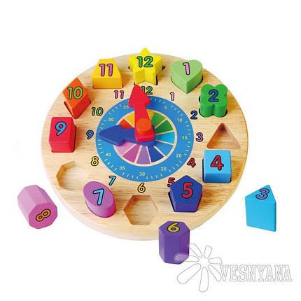 Пазл Viga Toys Часы 59235VG, фото 2