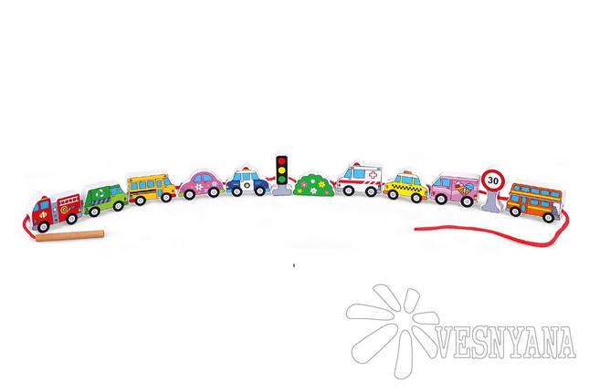 Шнуровка Viga Toys Автотранспорт 59851VG, фото 2