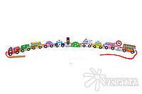 Шнуровка Viga Toys Автотранспорт 59851VG
