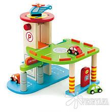 Игровой набор Viga Toys Гараж 59963VG