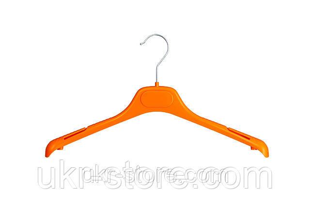 Плечики вешалки для одежды разноцветные с логотипом компании