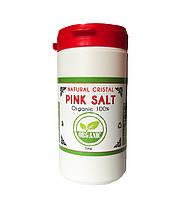 "Соль розовая мелкая Natural Cristal ""400 грамм"""