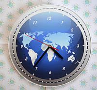 Часы настенные Глобус
