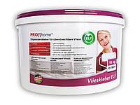 Готовый к применению клей для настенных покрытий Vlieskleber ELF   Клей для флизелиновых обоев 16 кг для макс.105 м2