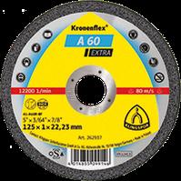 Круг отрезной А 60 Extra 125*1.0*22.23 мм GER Klingspor
