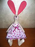 Крольчиха Тильда девочка игрушка, фото 4