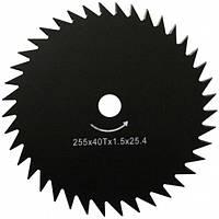 Нож для мотокосы WERK 40Т (255х25.4х1.6 мм)