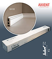 ORAC Decor SX122 AXXENT коробка с 20 молдингами | карнизы из дюрополимера | общая длина 40 м