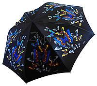 Женский зонт Zest Бабочки сатин (автомат) арт.53624-21