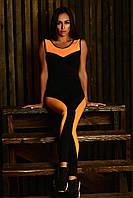 Спортивный комбинезон Sexy Black with Orange