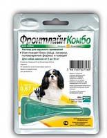 Frontline Combo (Фронтлайн Комбо) S капли для собак от 2 до 10 кг 1шт