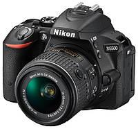 NIKON D5500 + 18-105 VR ( черный), фото 1