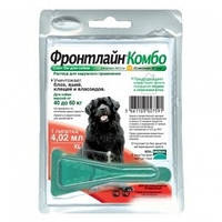 Frontline Combo (Фронтлайн Комбо) XL капли для собак от 40 кг 1шт