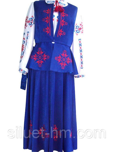 Фото: украинский национальный женский костюм