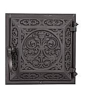 Чугунная печная дверца -- Dunántúl 24х24см-22х22см