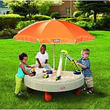 Little Tikes пісочниця з парасолькою, фото 3
