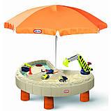 Little Tikes пісочниця з парасолькою, фото 4