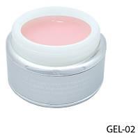 Розовый моделирующий гель Lady Victory LDV GEL-02 /0-4